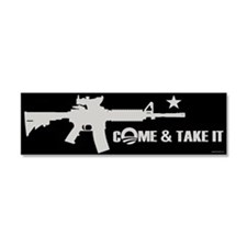 Come & Take It - Obama Car Magnet 10 x 3