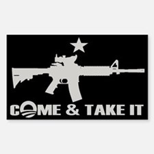 Come & Take It - Obama Decal