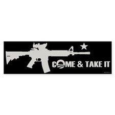 Come & Take It - Obama Bumper Sticker
