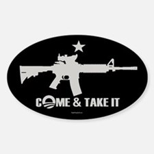 Come & Take It - Obama Decal