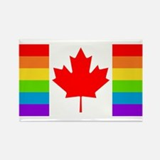 Canadian Pride Flag Rectangle Magnet (100 pack)