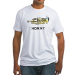 Horny Fitted T-Shirt