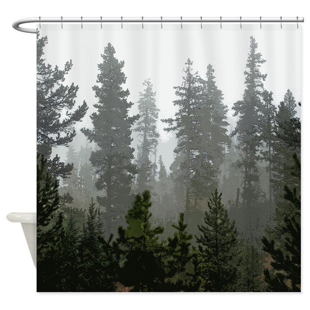 Camping Shower Curtains | Camping Fabric Shower Curtain Liner