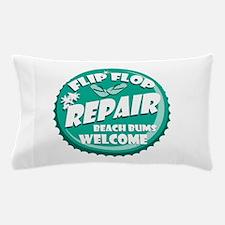 Flip Flop Repair Pillow Case