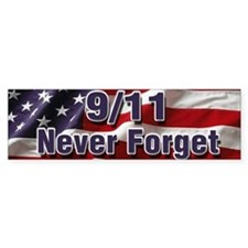 9/11 Never Forget Car Sticker