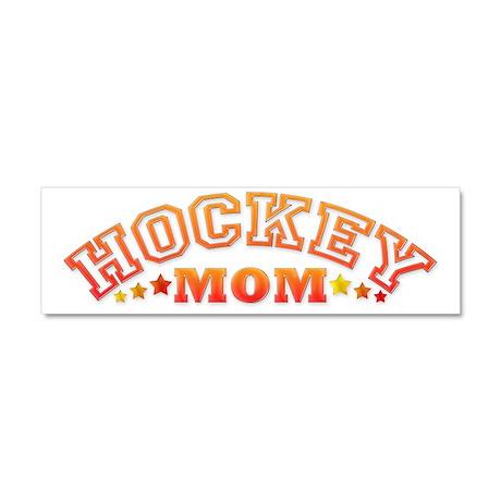 Hockey Mom Car Magnet 10 x 3