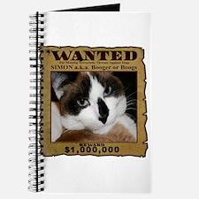 Simon: Wanted Journal