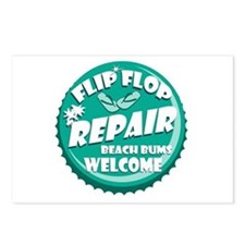 Flip Flop Repair Postcards (Package of 8)