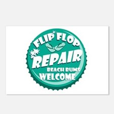 Flip Flop Repair Postcards (Package of 8)