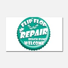 Flip Flop Repair Car Magnet 20 x 12