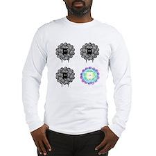 Be Unique Sheep Long Sleeve T-Shirt