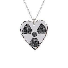 Vintage Radioactive Symbol 1 Necklace