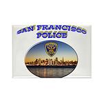 SFPD Skyline Rectangle Magnet (100 pack)