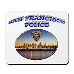 SFPD Skyline Mousepad