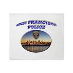SFPD Skyline Throw Blanket