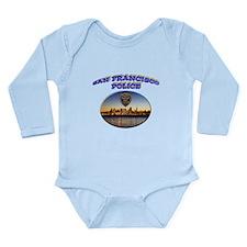 SFPD Skyline Long Sleeve Infant Bodysuit
