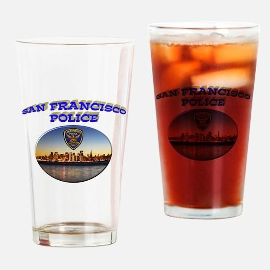 SFPD Skyline Drinking Glass