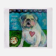 LoveABull Throw Blanket
