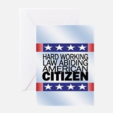 American Citizen... Greeting Card