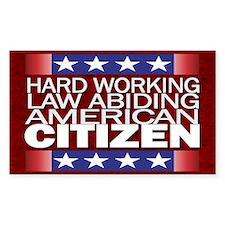 American Citizen... Decal