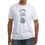 PONDERING RETIREMENT Fitted T-Shirt