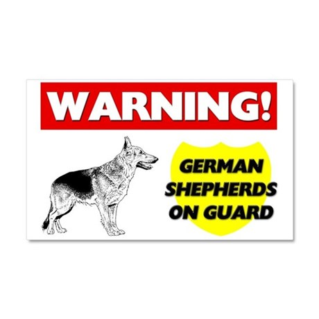 German Shepherd Car Magnet