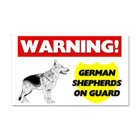 German Shepherd Car Magnet 20 x 12