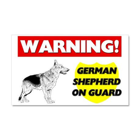 German Shepherd Car Magnet