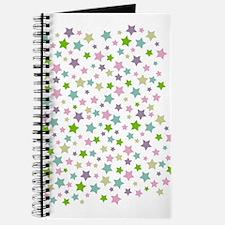 Pastel Star Pattern Journal