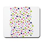 Colorful Star Pattern Mousepad