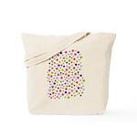 Colorful Star Pattern Tote Bag