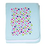 Colorful Star Pattern baby blanket