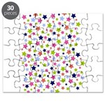 Colorful Star Pattern Puzzle