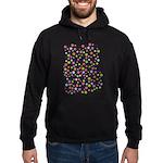 Colorful Star Pattern Hoodie (dark)