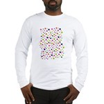 Colorful Star Pattern Long Sleeve T-Shirt