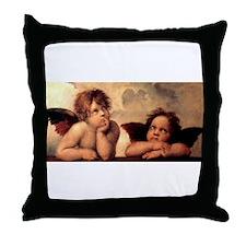 Cherub Angels Throw Pillow