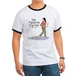 Pajama Diaries Logo Ringer T