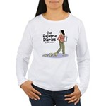Pajama Diaries Logo Women's Long Sleeve T-Shirt