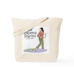 Pajama Diaries Logo Tote Bag