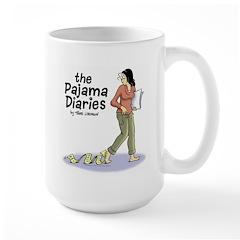 Pajama Diaries Logo Mug