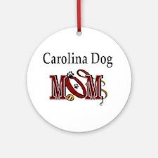 Carolina Dog Mom Ornament (Round)