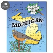 MICHIGAN Souvenir Puzzle