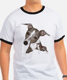 Italian Greyhound art T