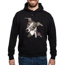 Italian Greyhound art Hoodie
