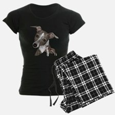 Italian Greyhound art Pajamas