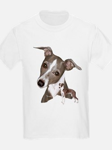Italian Greyhound art T-Shirt