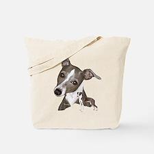 Italian Greyhound art Tote Bag