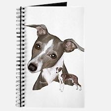 Italian Greyhound art Journal