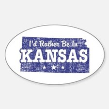 Kansas Sticker (Oval)