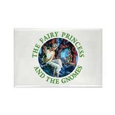 Princess and the Gnomes Rectangle Magnet